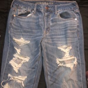 American Eagle Outfitters Size 8L Tomgirl Jeans